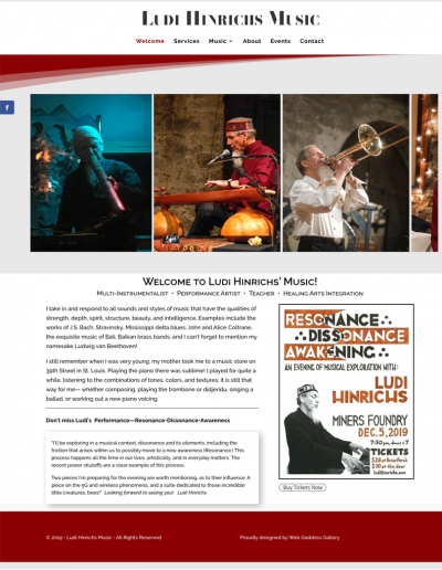 Ludi Hinrichs Music